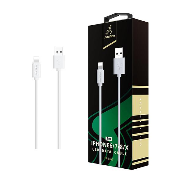 Cable iphone 6/7/8/x/11 (2m) gama premium – tp i167 1