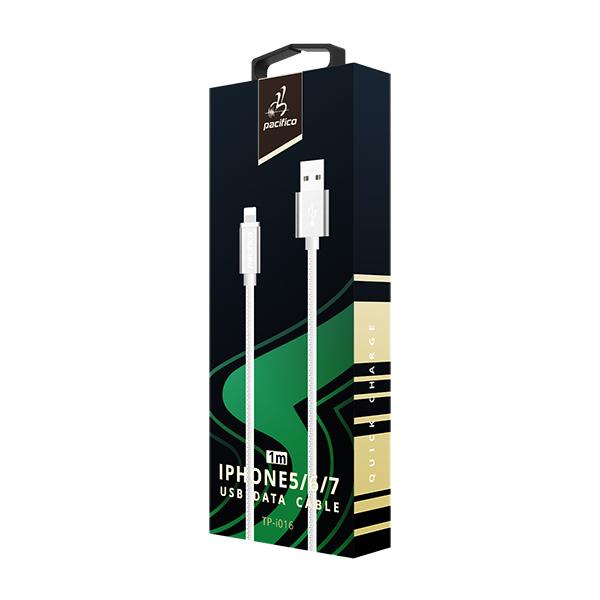Cable iphone 6/7/8/x/11 (1m) blanco gama premium – tp i016 3
