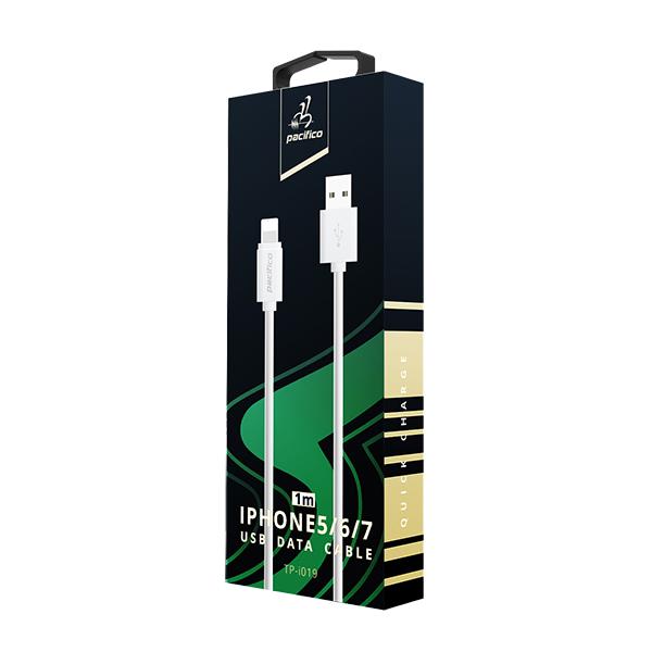 Cable iphone 6/7/8/x/11 (1m) blanco gama premium – tp i019 3
