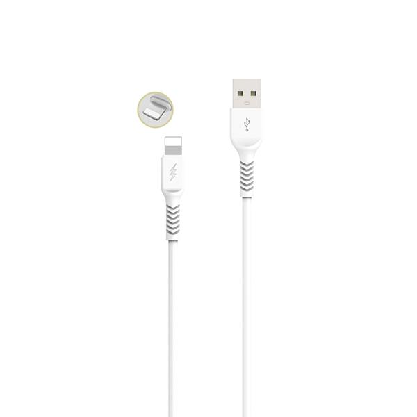 Cable iphone 6/7/8/x/11 carga rápida (1m) gama premium – tp i852 2