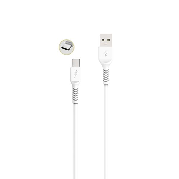 Cable tipo c carga rápida (1m) gama premium – tp i853 2
