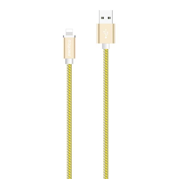 Cable iphone 6/7/8/x/11 (1m) amarillo gama premium – tp i011 2