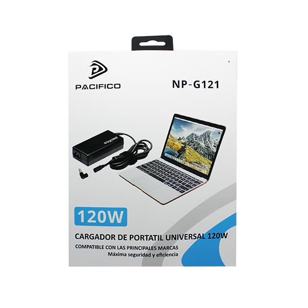 Cargador universal portátil 120w np-g121 2