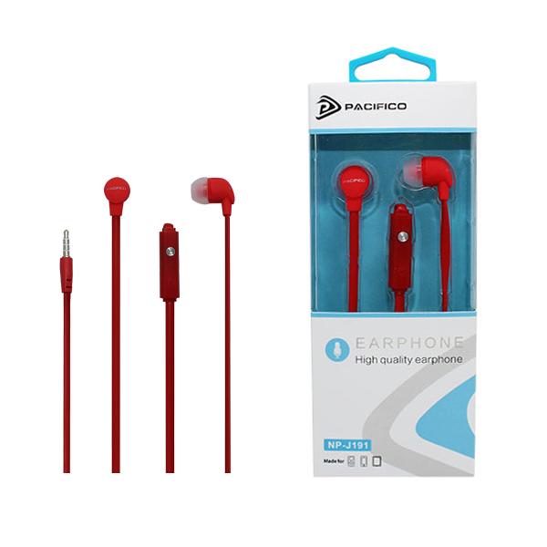 Auriculares np-j191 – rojo 1