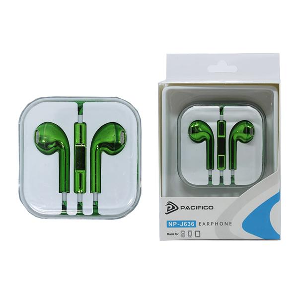 Auriculares np j636 – verde 1