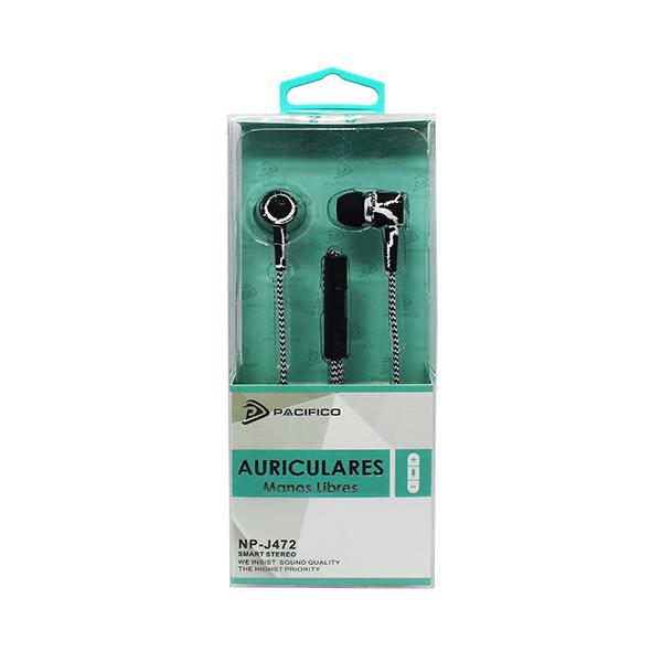 Auriculares np-j472 negro 3