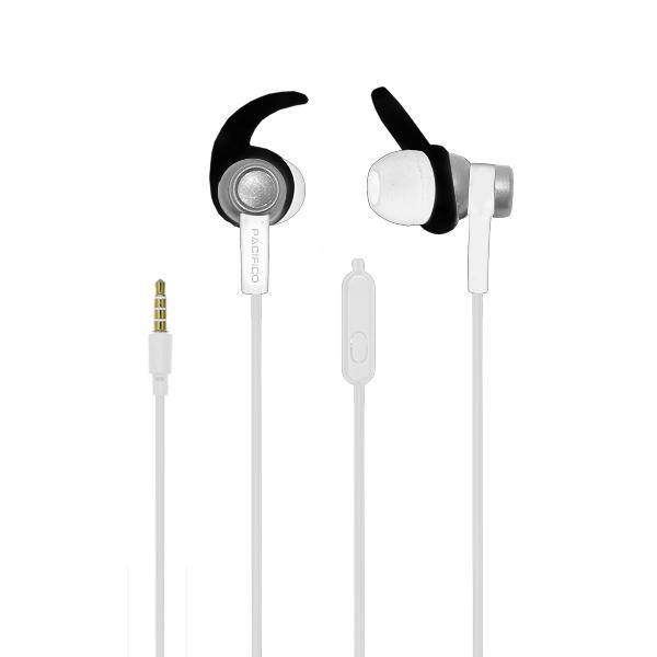 Auriculares deportivos np j473 - blanco 3
