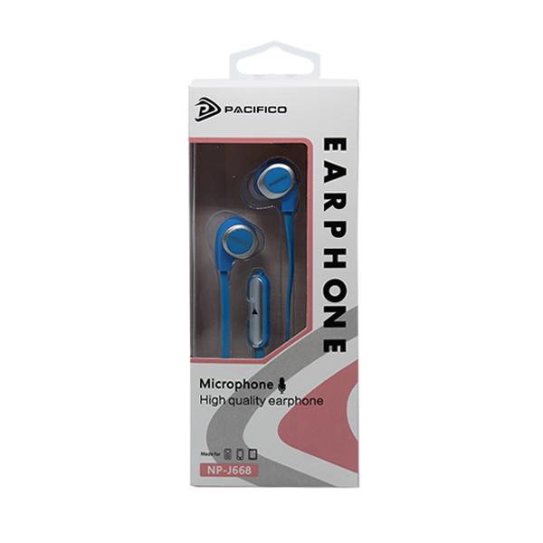 Auriculares con micrófono np-j668 – azul 3