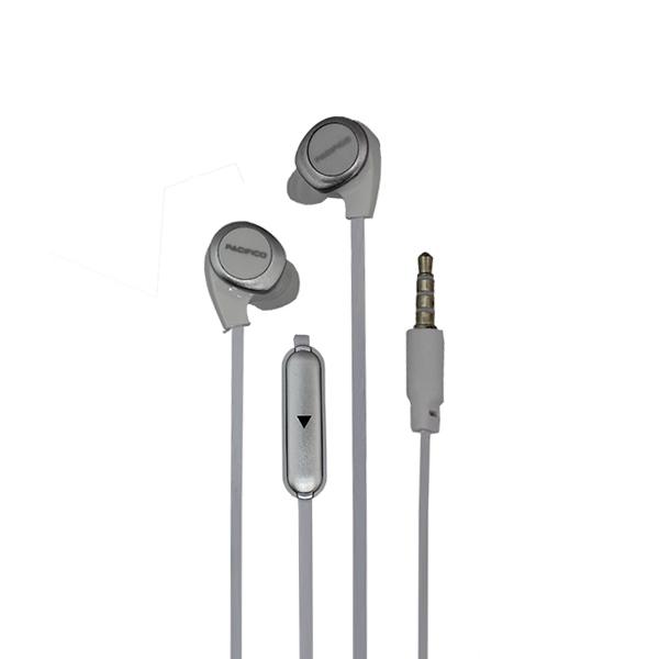 Auriculares con micrófono np-j668 – blanco 2