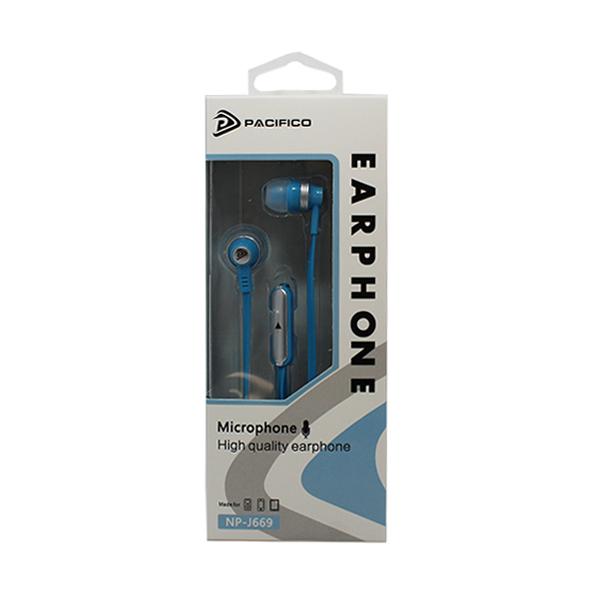 Auriculares con micrófono np-j669 – azul 3
