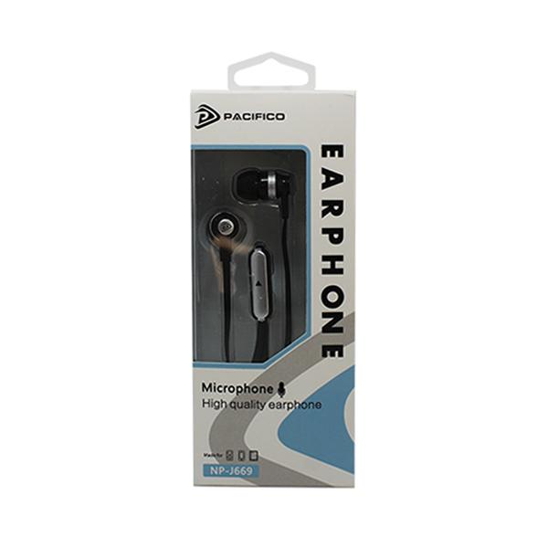 Auriculares con micrófono np-j669 – negro 3