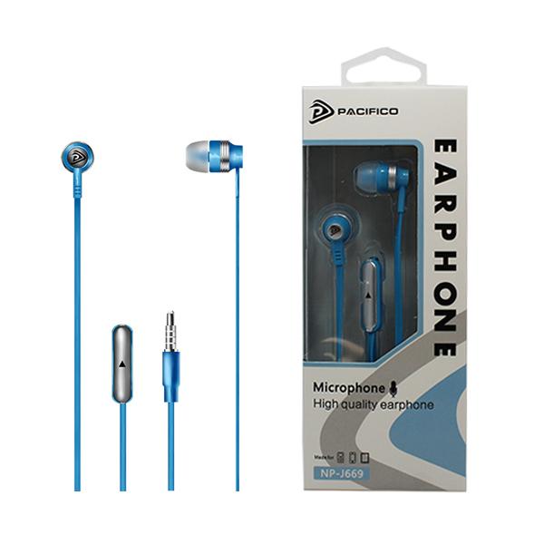 Auriculares con micrófono np-j669 – azul 1