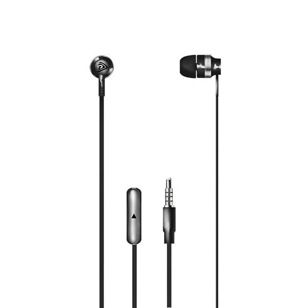 Auriculares con micrófono np-j669 – negro 2