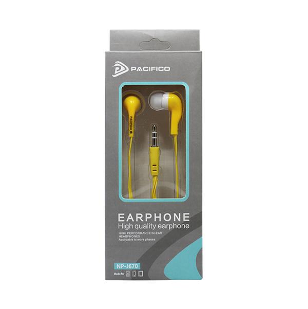 Auriculares np-j670 – amarillo 3