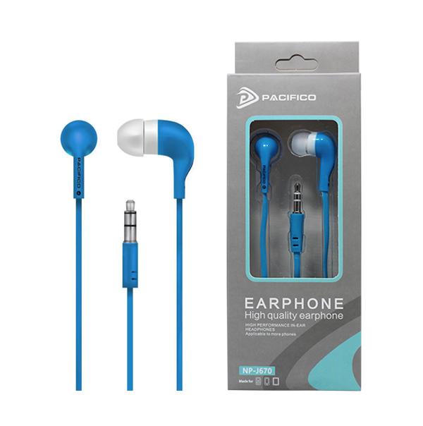 Auriculares np-j670 – azul 1