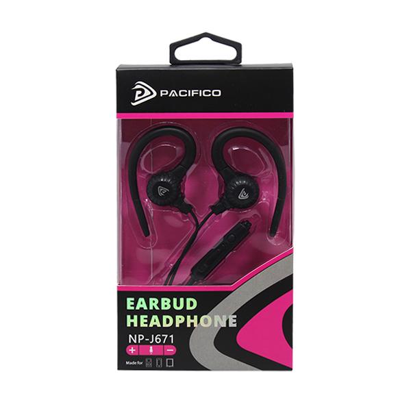 Auriculares con micrófono np-j671-negro 3