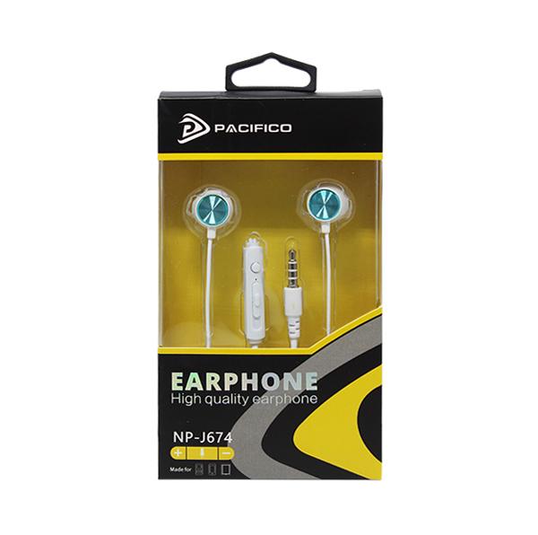 Auriculares con micrófono np-j674 – azul 2