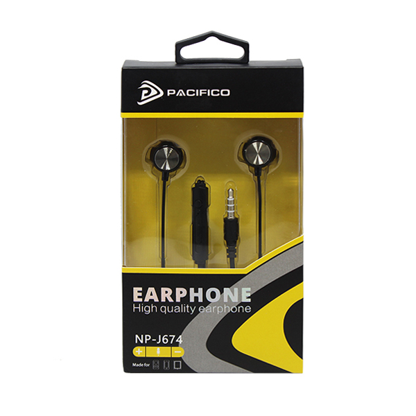 Auriculares con micrófono np-j674 – negro 3