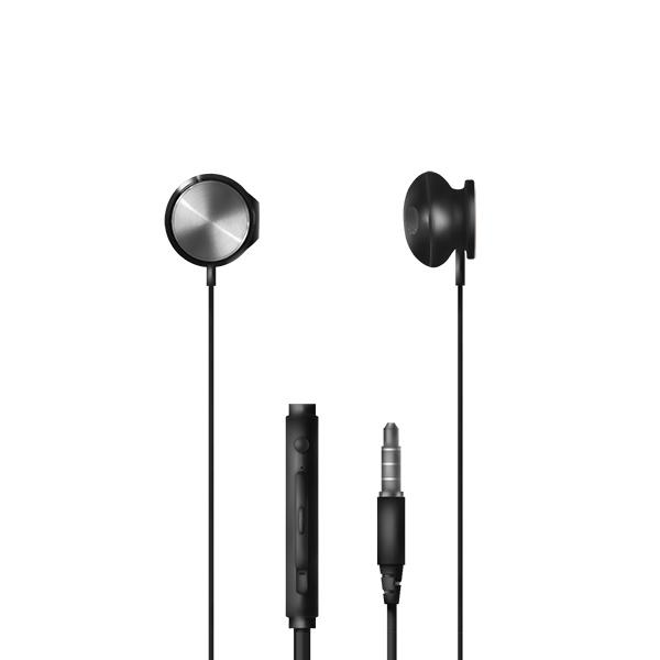 Auriculares con micrófono np-j674 – negro 2