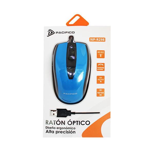Ratón np-r298 azul 2