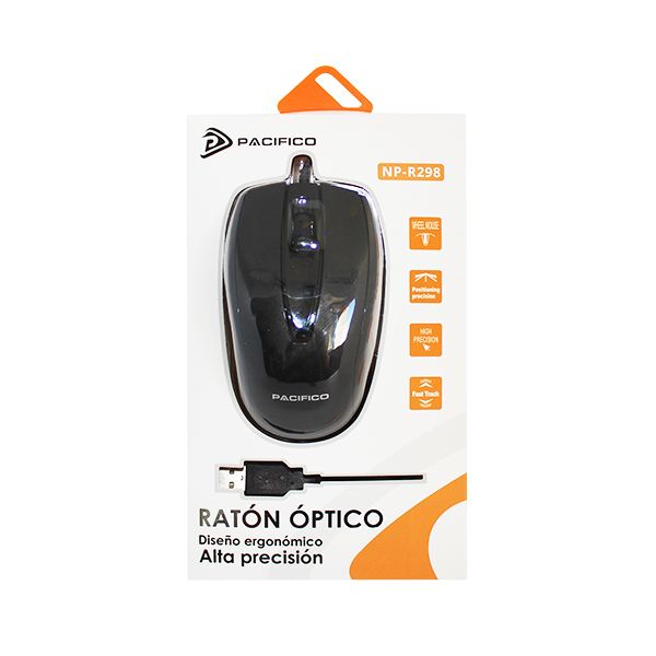 Ratón np-r298 negro 2