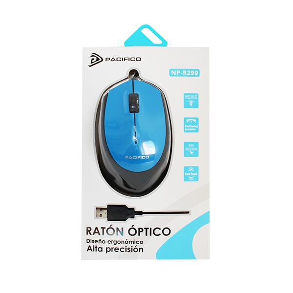 Ratón np-r299 azul 2