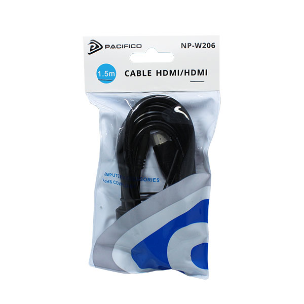 Cable hdmi m-m 1. 5m np-w206 2