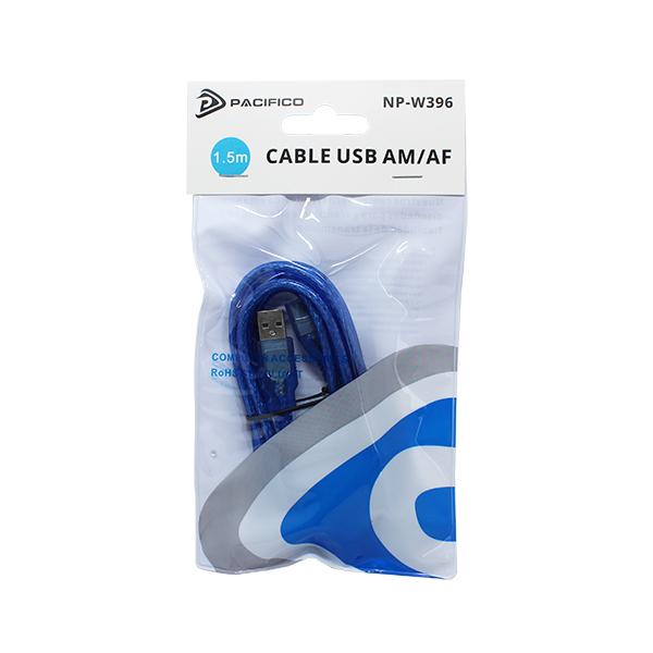 Cable usb – am/af (1. 5m) np-w396 2
