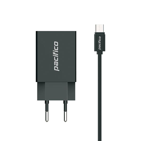 Cargador micro usb/v8 - negro - gama premium tp-c008 2