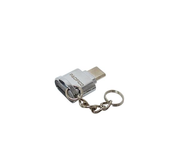 Mini adaptador: lector tarjetas a tipo c np-i289 2