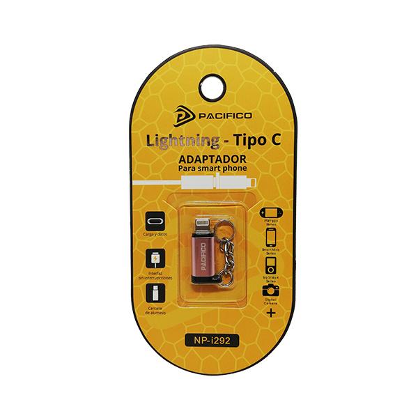 Mini adaptador de tipo c – iphone np-i292 rosa 3