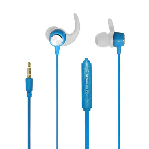 Auriculares deportivos np-j481 azul 3