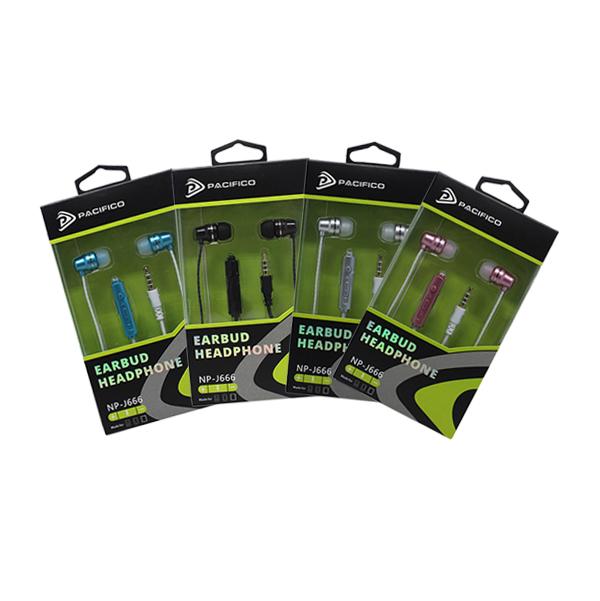 Auriculares con micrófono np-j666-paquete 12 uds colores variados 1