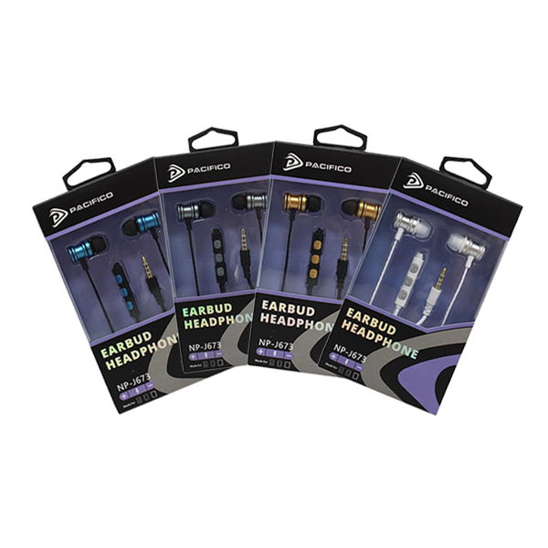 Auriculares con micrófono np-j673 – paquete 12 uds colores variados 1