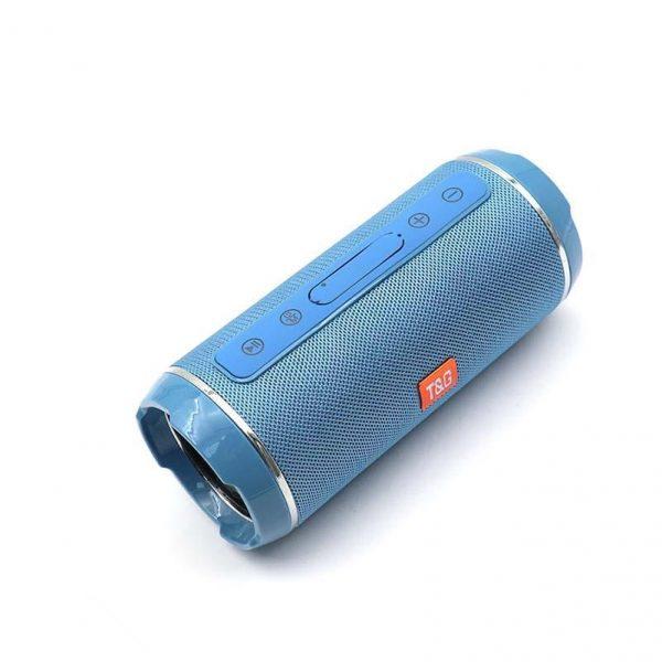Altavoz bluetooth azul claro tg-116 1
