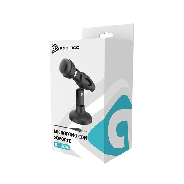 Micrófono con conector dc3. 5 np-j898 3