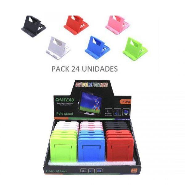 Pack soporte tablet/móvil colores 24u. 2