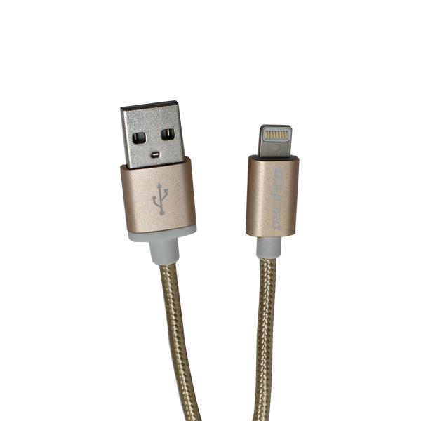 Cable iphone 5-6 rápido – tp-i590 – dorado 1