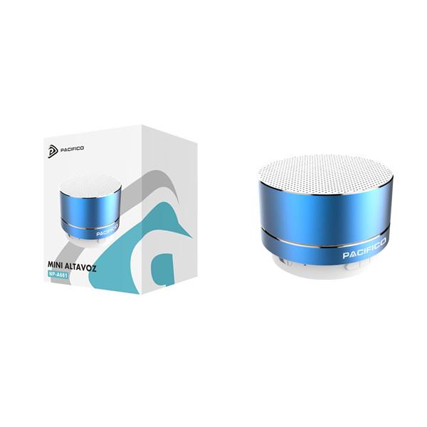 Altavoz bluetooth np-a661-azul 1