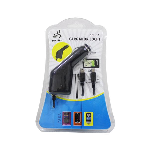 Cargador coche micro usb y mini usb – xwj-364 2