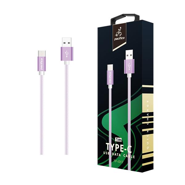 Cable tipo c (3. 1) 1m – tp-i017 – morado 1