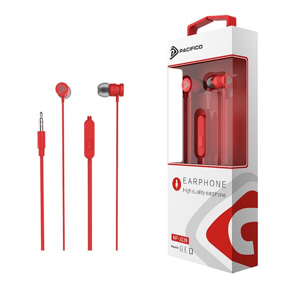 Auriculares np-j139 – rojo 1