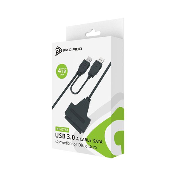 Cable usb 3. 0 conversor sata np-d758 2