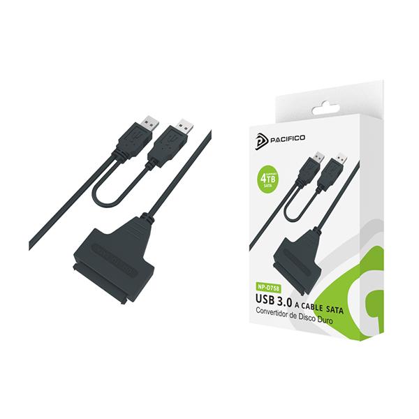 Cable usb 3. 0 conversor sata np-d758 1