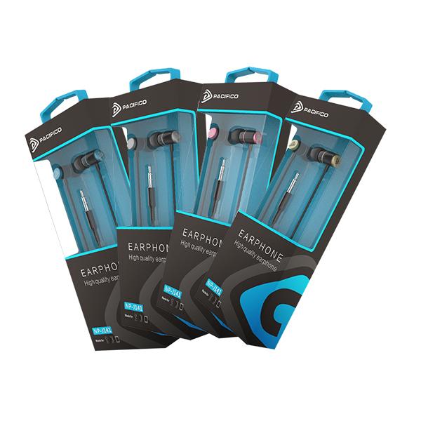 Auriculares np-j141 – paquete 12 uds colores variados 1