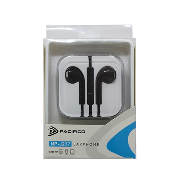 Auriculares para iphone np-j237-negro 4
