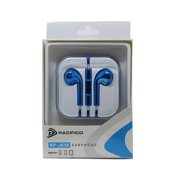 Auriculares np-j636 – azul 3