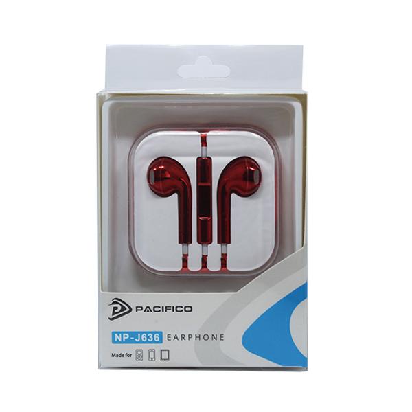 Auriculares np-j636 – rojo 3