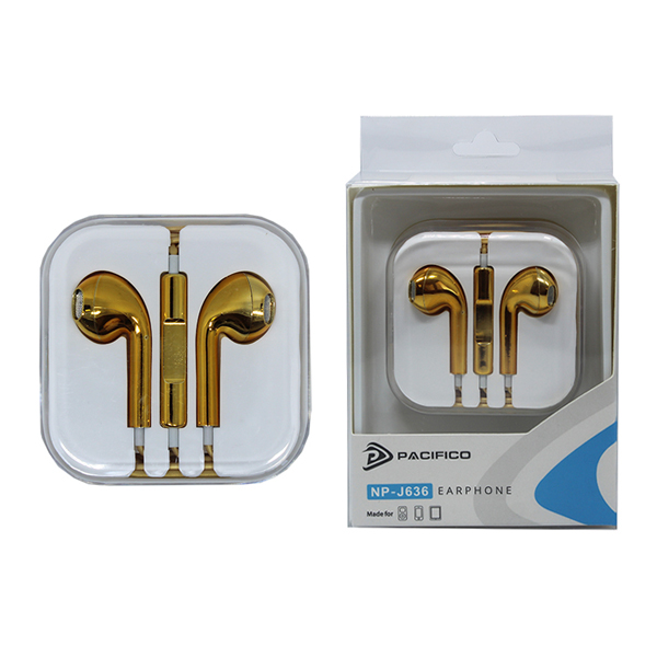 Auriculares np-j636 – oro 1