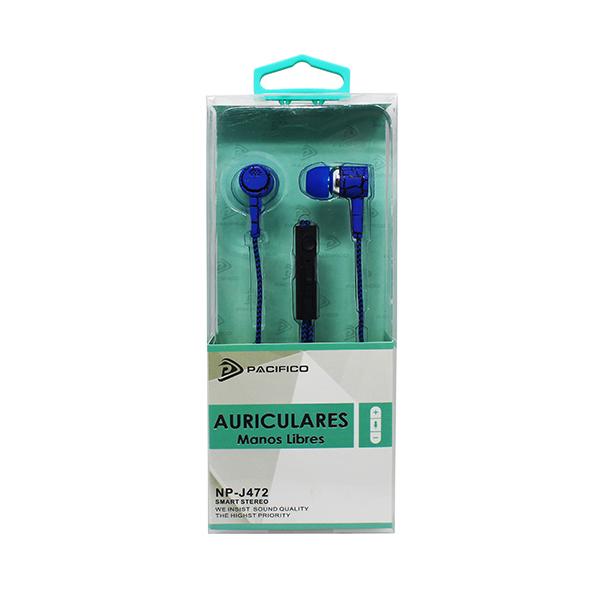 Auriculares np-j472 – paquete 12 uds colores variados 2